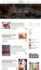 site recettes cuisine the flavour un thème pour site web de recettes de