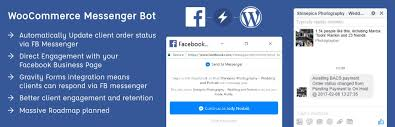fb update fb messenger bot for woocommerce wordpress plugins