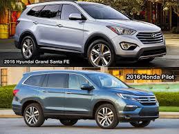 lexus nx vs hyundai tucson benim otomobilim 2016 honda pilot vs 2016 hyundai grand santa fe