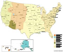 usa map with time zones and cities time zone maps uc cus map