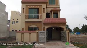 5 marla house is available for sale in bahria town block aa