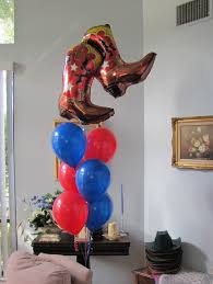 party people event decorating company cowboy western themed shower