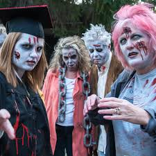 day of the dead zombie halloween mask scare up some fun in eureka springs the official eureka springs