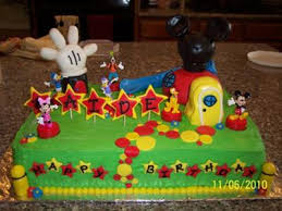 mickey mouse clubhouse birthday cake the cake itself for this