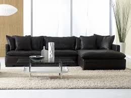 Black Leather Sectional Sofas Elegance Of Leather Sectional Sofas Luxurious Furniture Ideas