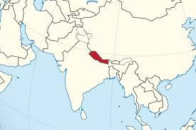 Nepal Map World by Nepal Map In Asia Nepal Map In Asia Spainforum Me