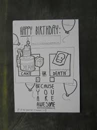 over 40 hand drawn birthday cards doodlers anonymous