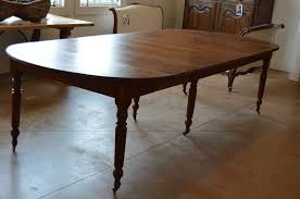 french 19th century louis philippe walnut extension dining table