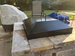 Firepit Lid Custom Fit Pit Covers Lids Metal Dome Cover Screens