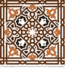 free ornament vector arabesque