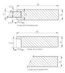 plan de la cuisine cuisine équipée ou sur mesure modèle schéma maison de la cuisine