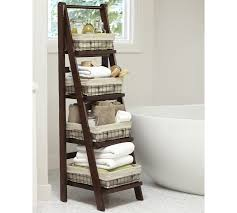 Bathroom Ladder Shelves Benchwright Ladder Floor Storage If You The Space And Color