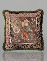 strongwater pillows 20x20 floral pillow by strongwater fanciful