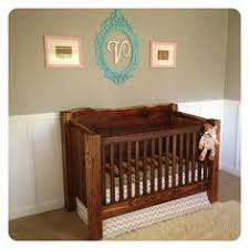 rustic homemade wooden baby crib plans blueprints beds