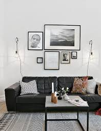 Living Room Decorating Ideas With Black Leather Furniture Living Room Design White Living Rooms Black Leather Sofa Decor