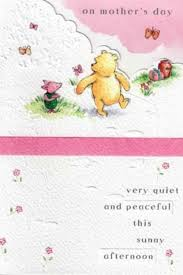 cute winnie the pooh bear mother u0027s day card cards love kates