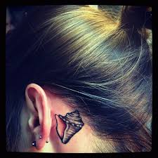 Tattoo Ideas For Behind Ear Best 25 Conch Shell Tattoos Ideas On Pinterest Previous Life