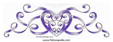 name tattoo designs with hearts 7