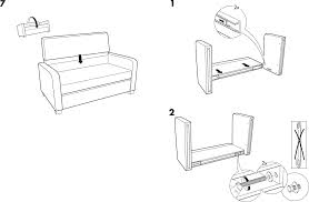 IKEA Chairs SOLSTA SOFA BED PDF Assembly Instruction Free Download - Sofa bed assembly