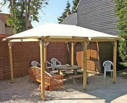 picturesque outdoor patio gazebo canopy from knotty pine wood