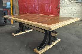 industrial trestle table trestle tables vintage industrial