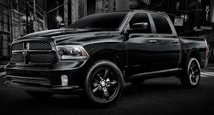 dodge blackout truck ram gives 1500 some attitude with black express edition