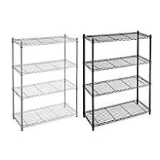 Bed Bath And Beyond Order Status Commercial Grade 4 Tier Shelving Unit Bed Bath U0026 Beyond