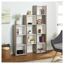 Oak Room Divider Shelves Room Divider Bookcase White Sonoma Oak Tms Target