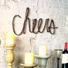 home and interior gifts iron cheers wall décor cece u0026 me home and gifts