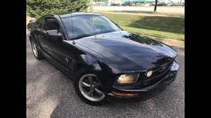 Black Mustang With Pink Stripes 2006 Ford Mustang For Sale Carsforsale Com