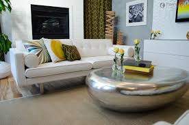 round coffee table arrangement ideas coffee table