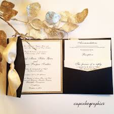 black and gold wedding invitations ideas tips carlson craft wedding invitations with regard to