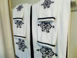 Towel Decoration For Bathroom by Guest Bathroom Decorating On A Budget Be My Guest With Denise