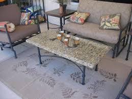 granite top patio table