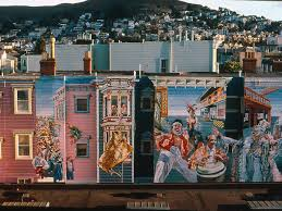 49 of san francisco s most awesome murals mapped the mural which spans 75 feet was restored in 2011 after fading since its original painting