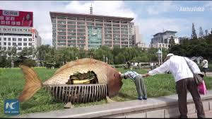 amazing sculptures made of scrap steel in ji u0027nan china youtube