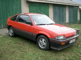 1985 honda civic hatchback 1st gen honda crx 83 87 pinterest