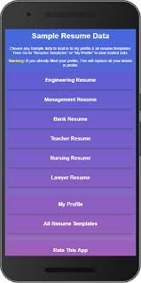 Easy Resume Creator Pro by Resume Builder Pro In 10 Min Free Templates Maker 3 4 Apk