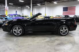 2004 Mustang Cobra Black 2001 Ford Mustang Svt Cobra Gr Auto Gallery