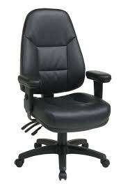 Leather Computer Chair Design Ideas Furnitures Emmet Ergonomic Pu Leather Office Chair Ideas Modern