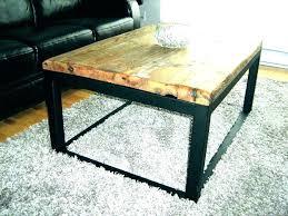 rustic metal coffee table industrial style coffee table industrial coffee table legs rustic