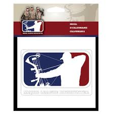 decal infinity camouflage major league bowhunter