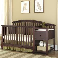 Convertible Cribs With Attached Changing Table by Imagio Baby By Westwood Design Westwood Baby Furniture