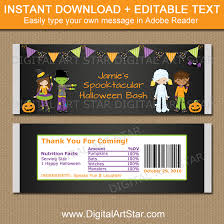 printable candy bar wrappers chocolate bar labels digital art star