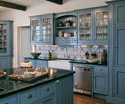 Blue Kitchen Countertops by Blue Kitchen Decor And This Kitchen Blue Home Paint Decor