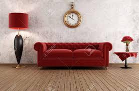 vintage livingroom vintage livingroom with against grunge wall