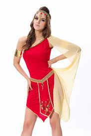 Athena Halloween Costume Queen Nile Shoulder Princess Goddess Costume
