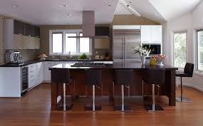 white kitchen design feats black kitchen cabinet with white