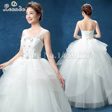 red and white wedding dresses with straps gt pink and white v