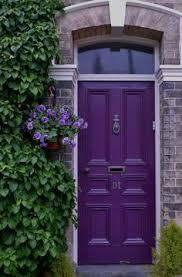 how to choose a front door paint colour purple door purple and